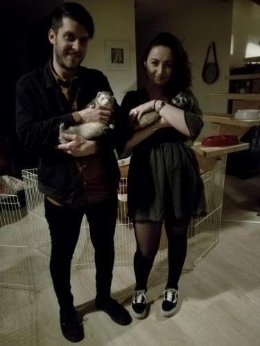 René et sa nouvelle famille !
